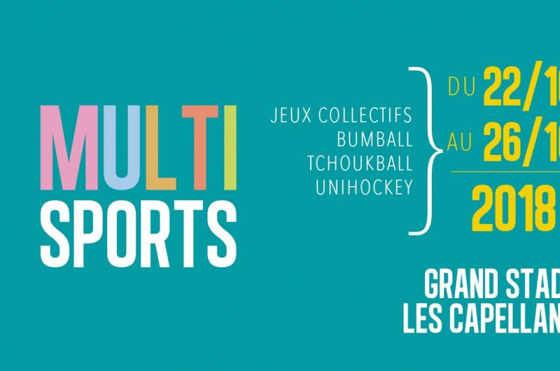 STAGE MULTI SPORTS ENFANTS TOUSSAINT 2018